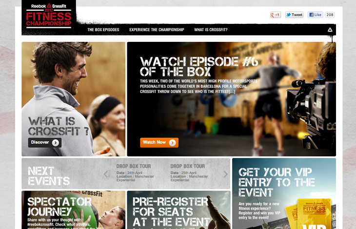 The Box - Homepage